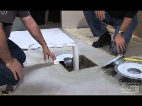 Concrete Box Out Drain Preparation   YouTube