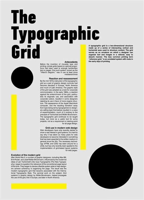 Typographic Grid Systems Prt 01 A Photo On Flickriver