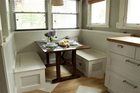ikea kitchen bench banquette breakfast nook dining tables step by step instructions for banquette