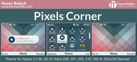 nokia asha 210 live themes pixels corner live theme for nokia c3 00 x2 01 asha 200