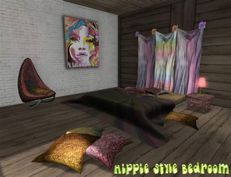 hippie inspired bedroom second life marketplace promo price hippie style bedroom only 50 l