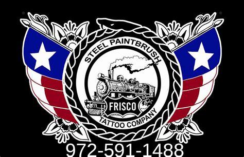 frisco tattoo steel paintbrush frisco shop custom tattoos
