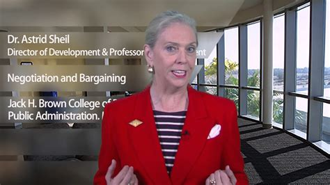 Csusb Mba Programs by Negotiation And Barganinging With Dr Astrid Sheil Csusb