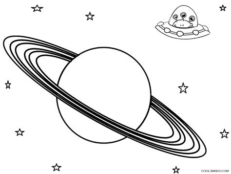 Saturn And Ufo Planets Coloring Pages 30883 Saturn Coloring Pages