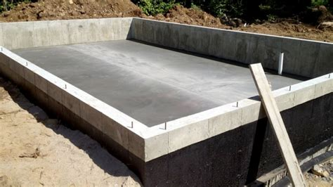 How To Build A Concrete Foundation For A Shed by How Do Contractors Pour Solid Concrete Foundations