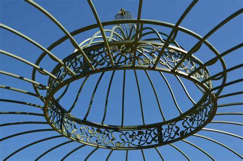 gazebo circolare orvieto arte gazebo in ferro a pianta circolare