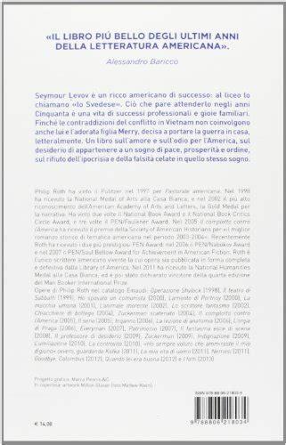 pastorale americana 8806218034 libro pastorale americana di philip roth