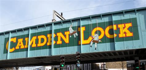 camden lock camden lock sign on bridge photo areas and routes