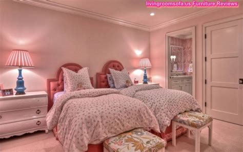 Twin Girls Bedroom Set | twin bedroom sets for girls perfect design with desk l