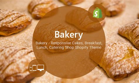 shopify themes bakery cake responsive food drink store shopify theme themetidy