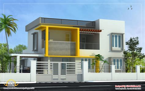 modern home designs plans modern home design 2643 sq ft home appliance