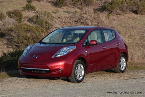 2012 Nissan Leaf Review by Review A Week In A 2012 Nissan Leaf The About Cars