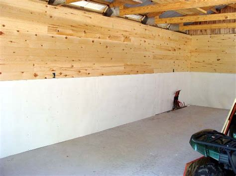 Plywood Garage Walls by The Gallery For Gt Garage Walls Plywood