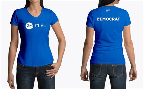 blue democrat i m a democrat t shirt for the liberal and progressive