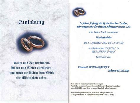 Einladung Hochzeit Gr N by Einladungsspruch Hochzeit Gl Ckw Nsche Zur Hochzeit G