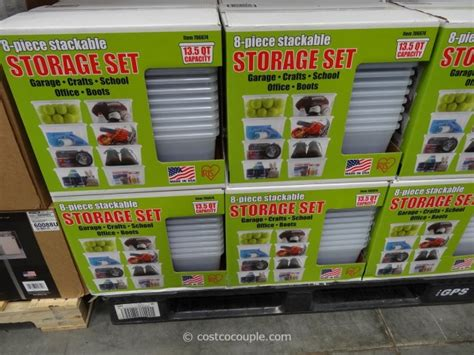 costco shoe storage iris stackable storage set