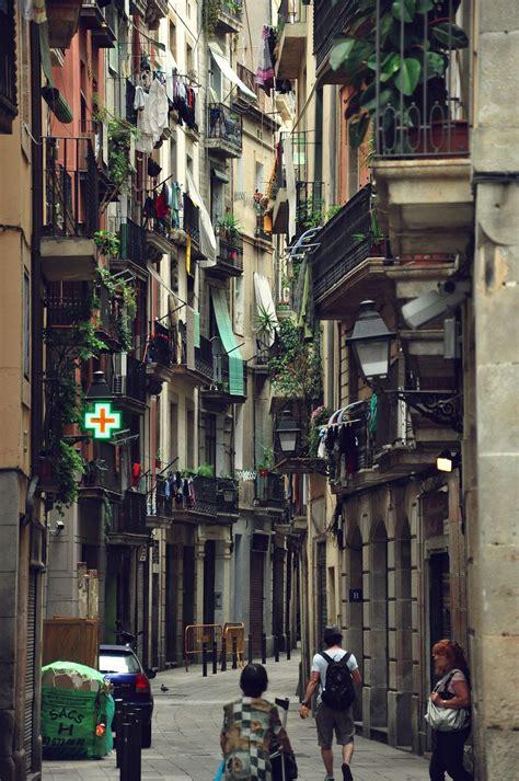 barcelona quarters the gothic quarter barcelona