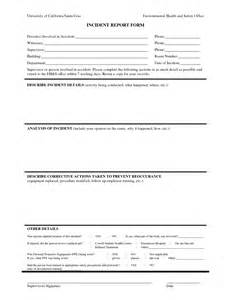 First Aid Report Form Samples Best Photos Of Human Resources Incident Report Template