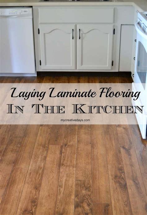 kitchen makeover laminate flooring my creative days