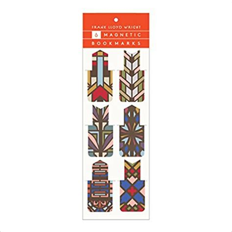 news press releases design bookmark 4342 frank lloyd wright designs magnetic bookmarks strand mag