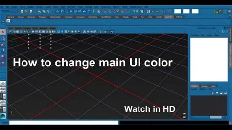 autodesk tutorial change ui color