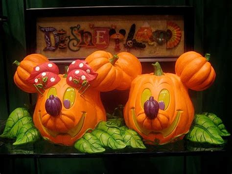 mickey mouse pumpkin faces free wallpapers mickey minnie