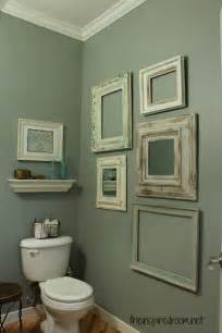 bathroom wall decorating ideas powder room take two 2nd budget makeover reveal the inspired room