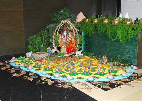 janmashtami decor pinterest