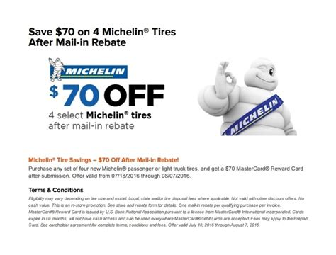 michelin tire rebate michelin tire coupons or rebates 2018 dodge reviews