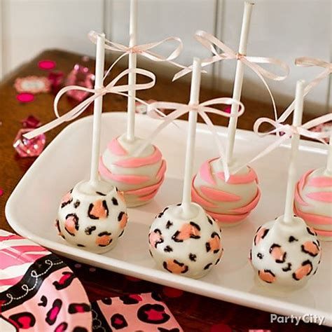 pink safari baby shower ideas party city