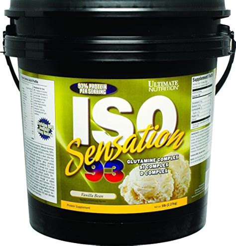Ultimate Nutrition Iso Sensation 93 5lbs Supplemen Fitness T3010 5 compare buy ultimate nutrition iso sensation 93 5 lbs