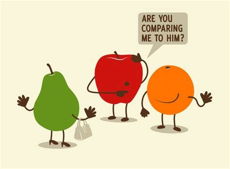 Comparing Apples To Oranges by Comparing Apples To Oranges Eats