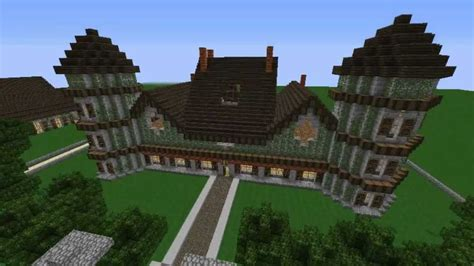 minecraft maison de cagne