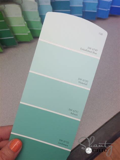 sherwin williams light blue new paint color shanty 2 chic