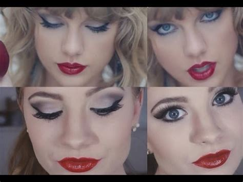 taylor swift inspired makeup taylor swift blank space makeup tutorial inspired outfit