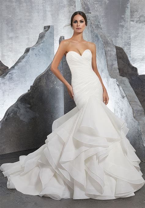 Bridal Dresses - wedding dress style 5604 morilee