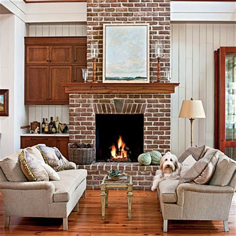10 brick and fireplaces