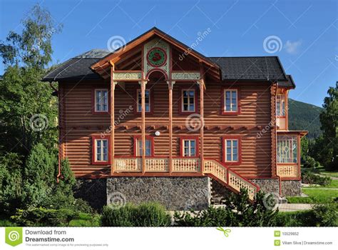 Interior Design Country Homes by House Of Wood Stock Photography Image 10529852