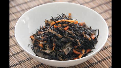 hijiki  nimono recipe japanese cooking  youtube