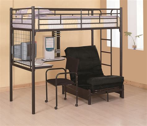 Bunk Bed With Workstation Workstation Loft Bunk Bed With Desk Coaster Co Bunk Beds Coa 2209 5