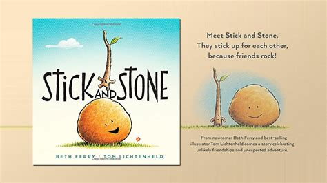stick and stone stick and stone by beth ferry and tom lichtenheld youtube
