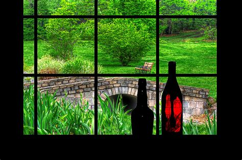 digital window view from the window digital art by rachel katic