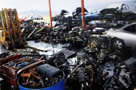 sfascia carrozze roma il mercato nero dei ricambi da rottamazione notiziario