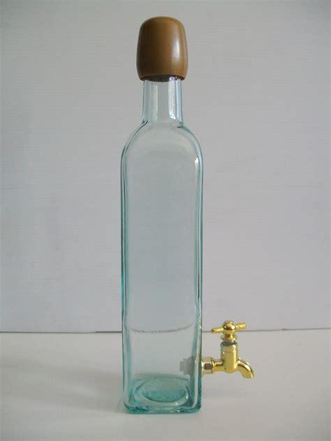 bottiglie di vetro con rubinetto bottiglia con rubinetto 50 cl enotecnica albese