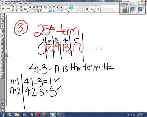 recursive pattern finder 17 best images about math final on pinterest teaching