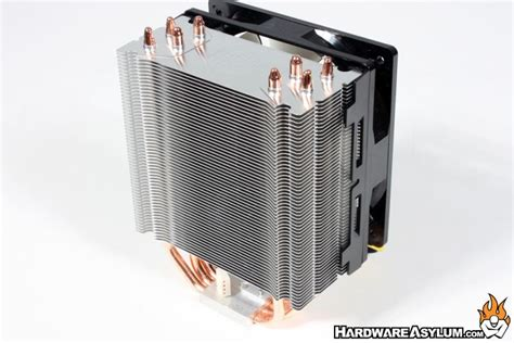 hyper 212 evo fan replacement cooler master hyper 212 evo heatsink review hardware asylum
