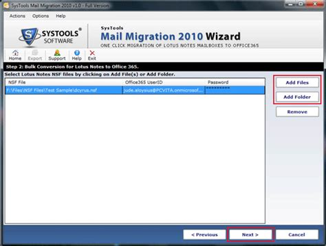 Office 365 Mail Migration Tool Migrate Lotus Notes Mailboxes To Microsoft Office365