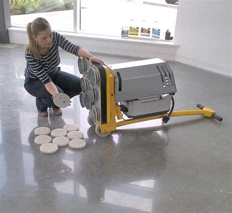 Polished concrete solutions for commercial & residential