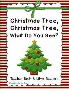 little reader with teacher book christmas tree christmas