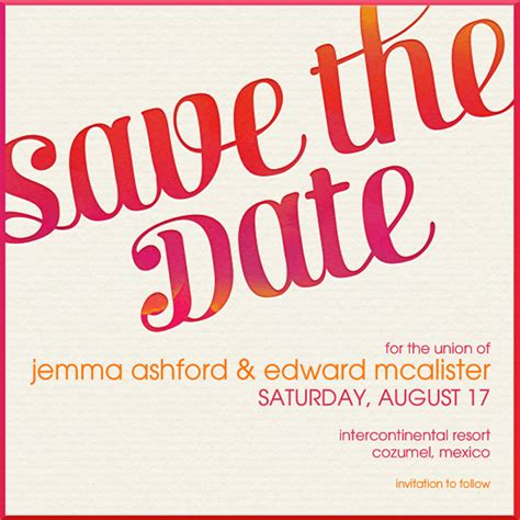 Stylish Digital Save The Dates For Every Type Of Wedding
